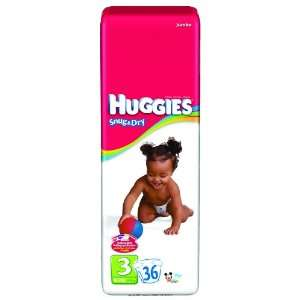 Huggies Snug & Dry Disposable Diapers, Huggies Snug N Dry Disp Sz1, (1