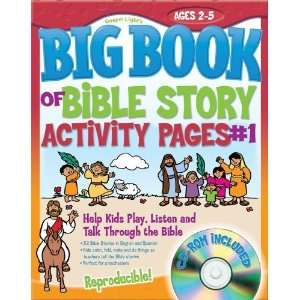 The Big Book of Bible Story Activity Pages #1 Help Kids