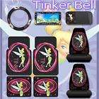 TinkerBell Pink 9PC Car Seat Covers Accessories Set
