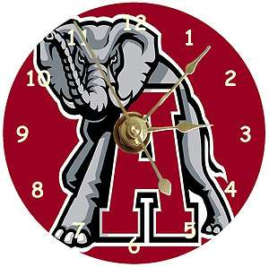 NEW Alabama Crimson Tide CD Clock