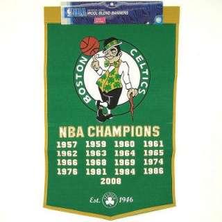 Boston Celtics NBA Basketball Championship Banner