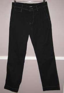 Mens JAMES PERSE Black Cotton Pants Size 30X33