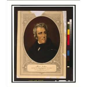 Historic Print (M) Andrew Jackson, lawyer, soldier