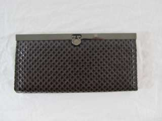 Womans Fashion Faux Leather Clutch Accordion Wallet Brand New