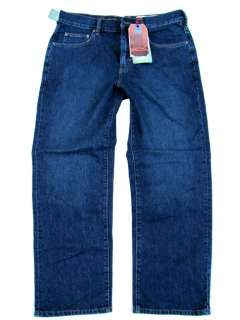 Tommy Bahama Mens Classic Stevens Park Blue Jeans 36W 30L