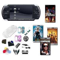 Sony PSP 3000 Holiday Bundle  1 Game, 3 UMD Movies, and 26