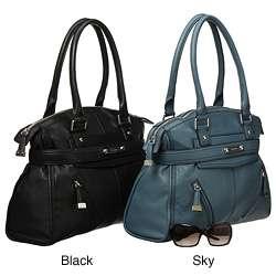 Calvin Klein Pebbled Leather Shopper Bag