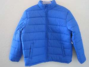 OLD NAVY MENS ROYAL BLUE PUFFER JACKET L,XL,XXL NWT