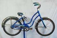 Schwinn Bantam 1982 Juvenile Girls Bike Blue 20 Wheel Kids Bicycle