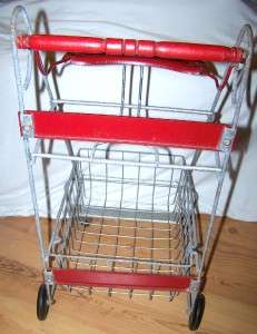 VINTAGE AMSCO DOLL  E SHOPPING CART KITCHEN HIGHCHAIR TOY HOWDY DOODY