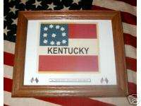 Confederate Flag, Civil War Flag..1st Kentucky Infantry