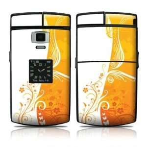 Orange Crush Design Skin Decal Sticker for the Samsung