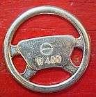 aluminum steering wheel vintage