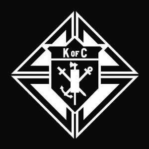 Knights of Columbus Die Cut Vinyl Decal Sticker   5.50