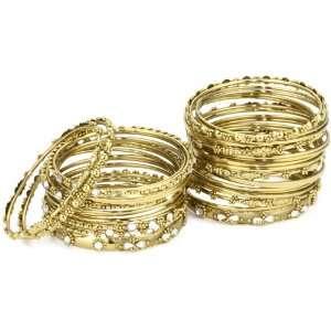 Amrita Singh Bangle Bangle Austrian Crystal with 18k Gold Plated