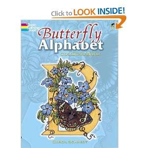 Butterfly Alphabet Coloring Book (Dover Coloring Books