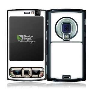 Design Skins for Nokia N95 8GB   White Design Folie