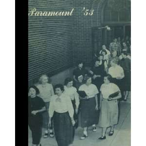 Reprint) 1953 Yearbook Grandville High School, Grandville, Michigan