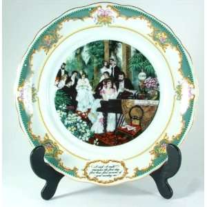 Franklin Porcelain The Poetry of Love collection Christina