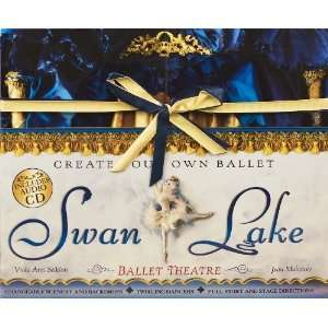 Swan Lake Ballet Theatre [Cards] Jean Mahoney Books