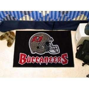 Tampa Bay Bucs Buccaneers Starter Rug/Carpet Welcome/Door