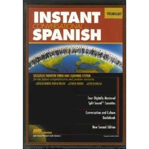 Spanish Vocabulary wi Book(s) (Instant Language Courses) (Spanish