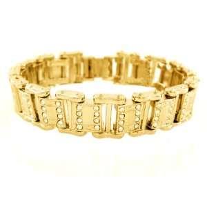 Iced Drake Hip Hop Bracelet Gold Plated: Everything Else