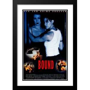 Bound 32x45 Framed and Double Matted Movie Poster   Style