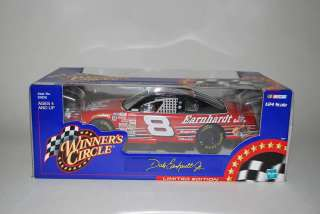 DALE EARNHARDT JR. #8 124 WINNERS CIRCLE CAR