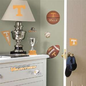 University of Tennessee Peel & Stick Wall Decals UNUSED SEALED