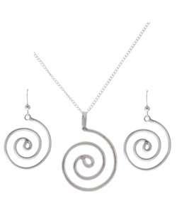 Circle Of Life Earrings & Pendant Set (Native American)