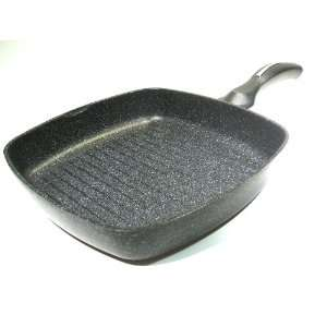 Marble Coated Cast Aluminium Non Stick Square Grill Pan Skillet