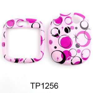 Sharp Kin 1 Colorful Circles on Pink Hard Case/Cover/Faceplate/Snap On