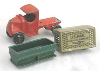 Die Cast Tootsie Toy Bulldog Mack Truck Two Rear End Options |