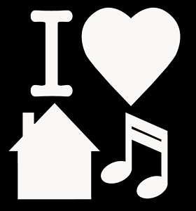 Love House Music T Shirt Techno Rave Dance