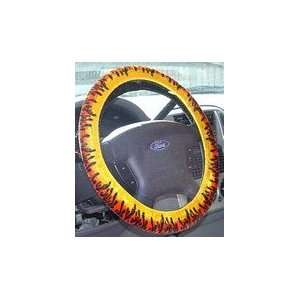 Hot Rod Flame Steering Wheel Cover Automotive