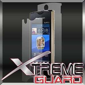 NEW Sony Ericsson Xperia Ray FULL BODY Clear LCD Screen Protector Case