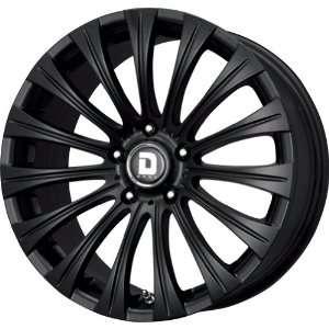 Drag DR 43 Flat Black Wheel (17x8/5x120mm) Automotive