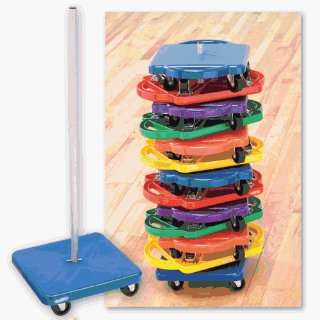 Physical Education Color My Class Scooters   Scooter Board Storage