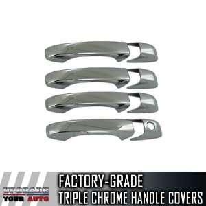 2008 2012 Dodge Caravan 4dr Chrome Door Handles/Covers (No