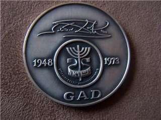 SALVADOR DALI 12 TRIBES OF ISRAEL SILVER MEDAL SET 999