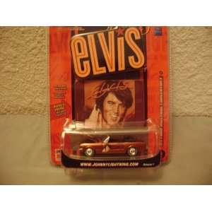 Rock Art R1 Elvis 1965 Ford Mustang Convertible Toys & Games