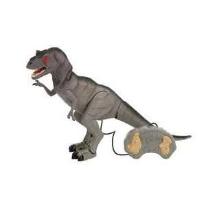 Mighty T REX Remote Control Dinosaur WALKS ROARS LIGHT UP EYES  Colors