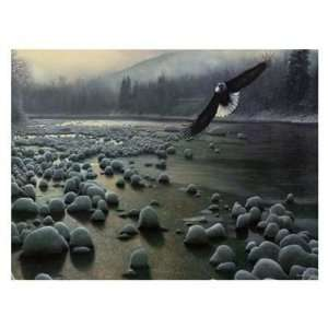 Kevin Daniel   On Eagle Wings Canvas