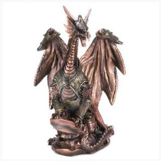 WINGED DRAGON WARRIOR GUARDIAN wicca pagan witch wicca