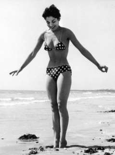 Polka Dot Bikini 1950s Photographic Print at AllPosters