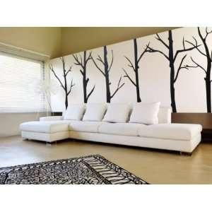 Winter Trees   Vinyl Wall Decal