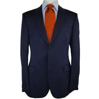 48l suit dark blue stripe wool suit separate ss08