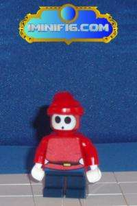 Custom LEGO Super Mario game figure Shy Guy