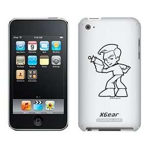 Star Trek Stylized Kirk on iPod Touch 4G XGear Shell Case